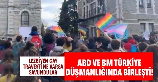 ABD ve BM LGBT gruplarını savundu