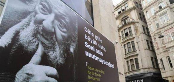 FOTO MUHABİRİ ARA GÜLER'E VEDA