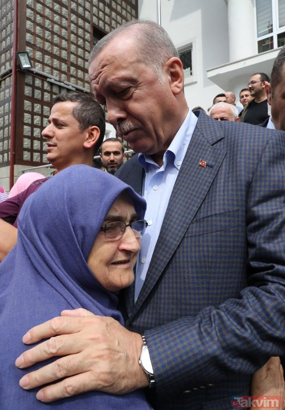 Başkan Erdoğan Güneysu'da