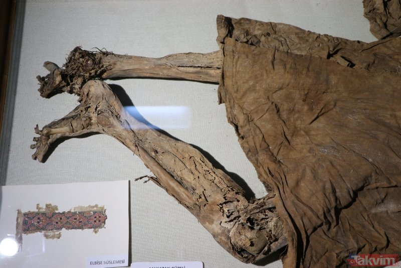 14 asırdır bozulmayan ceset Karaman Müzesi'nde sergileniyor