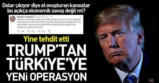Trumptan Türkiyeye yeni operasyon